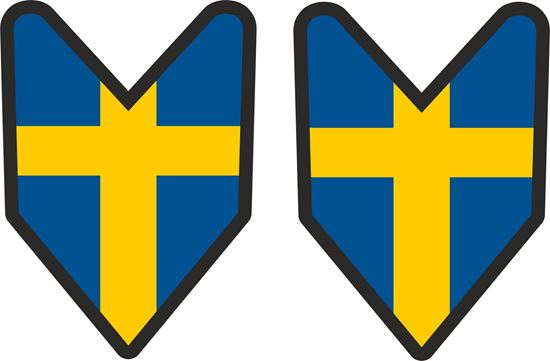 Picture of Volvo Swedish JDM Style Decals / Stickers
