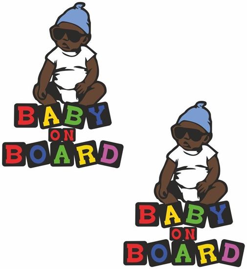 "Picture of ""Baby on Board"" general panel  Decals / Stickers"