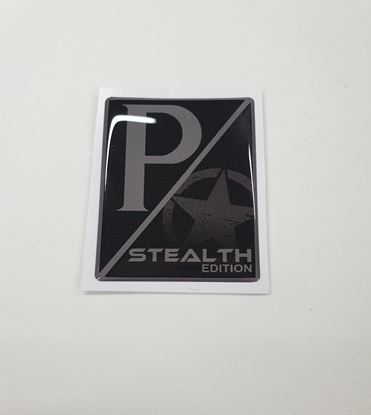 Picture of Vespa GTS Stealth Edition front Fairing Horncast insert for Badge Holder