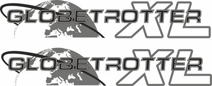"Picture of Volvo  ""Globetrotter XL"" panel Decals / Stickers"