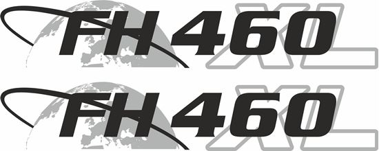 """Picture of Volvo  """"FH 460XL"""" panel Decals / Stickers"""