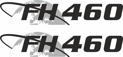 """Picture of Volvo  """"FH 460"""" panel Decals / Stickers"""