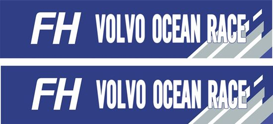 """Picture of """"FH Volvo Ocean Race"""" Decals / Stickers"""