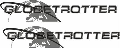 "Picture of Volvo  ""Globetrotter"" panel Decals / Stickers"