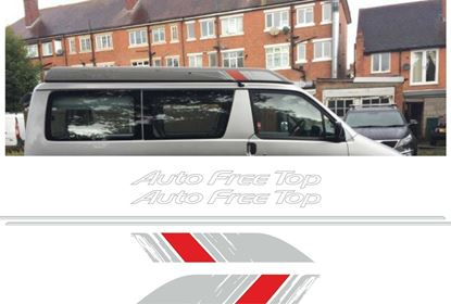 Picture of Mazda Friendee Bongo Auto Free Top replacement Decals / Stickers