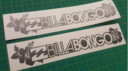 "Picture of Mazda Bongo Friendee ""Billabongo"" Decals / Stickers"
