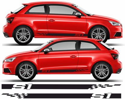 Picture of Audi S1 Side Stripes / Stickers