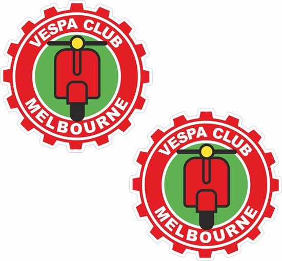 Picture of Vespa Club Melborne Stickers