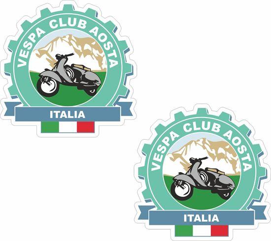 Picture of Vespa Club Italia Stickers
