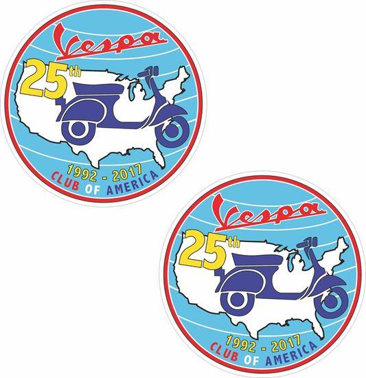 Picture of Vespa Club America Stickers