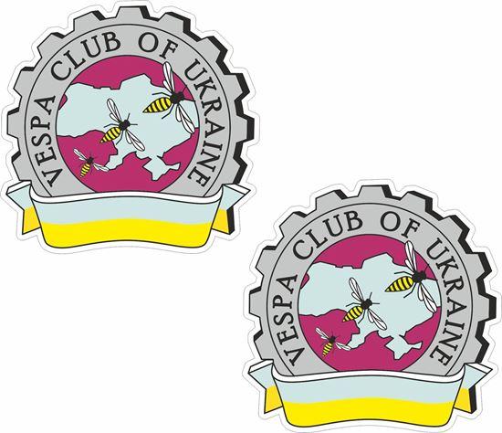 Picture of Vespa Club Ukraine Stickers