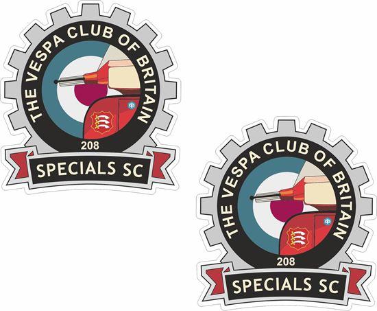 Picture of Vespa Club of Britain Specials SC Stickers