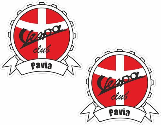 Picture of Vespa Club Pavia Stickers