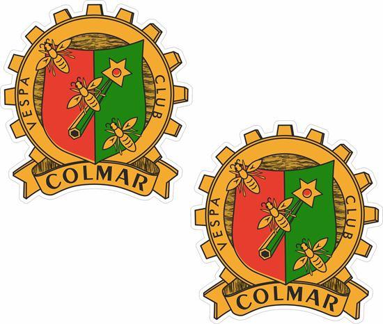 Picture of Vespa Club Colmar Stickers