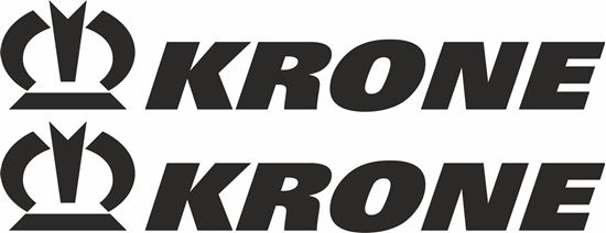 """Picture of """"Krone""""General panel  Decals  / Stickers"""