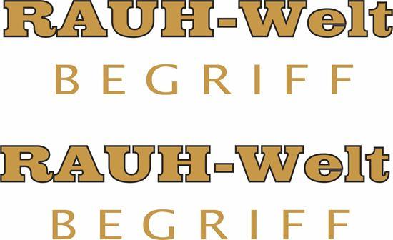 Picture of Porsche Rauh - Welt  Begriff Panel / Glass Decals / Stickers