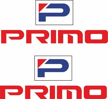 "Picture of Honda ""Primo"" Decals / Stickers"