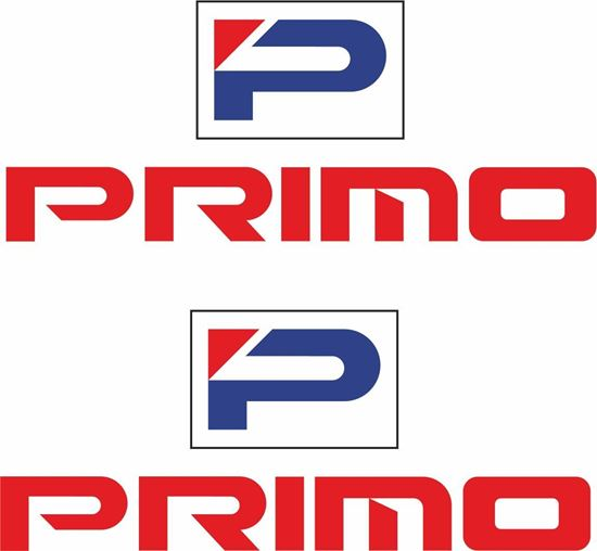 """Picture of Honda """"Primo"""" Decals / Stickers"""
