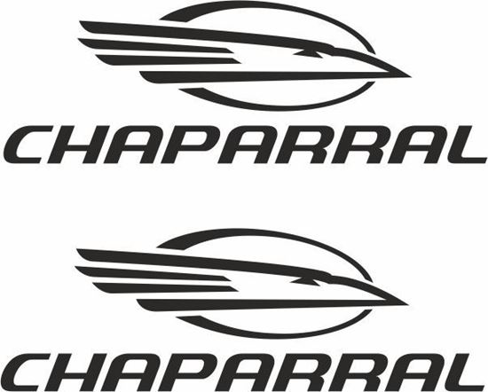 """Picture of """"Chaparral"""" Decals  / Stickers"""