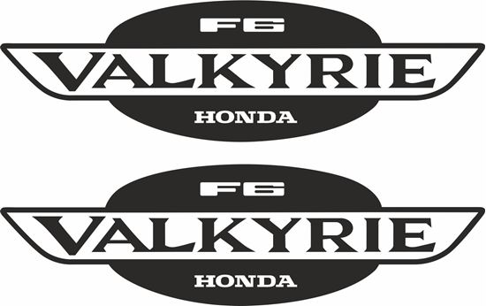 Picture of Honda Valkyrie F6 Decals / Stickers