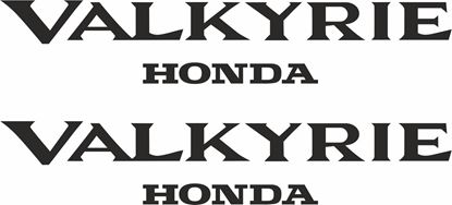 Picture of Honda Valkyrie Decals / Stickers