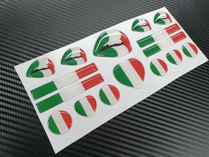 Picture of Italia  adhesive Badges sheet