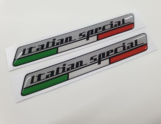 Picture of Italian Special 100mm wide adhesive Badges