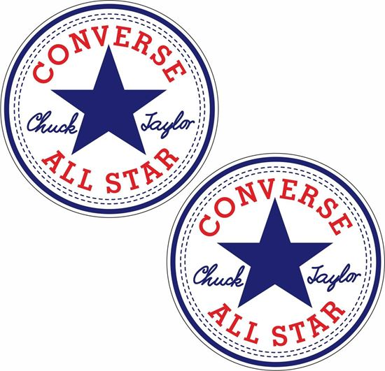 """Picture of """"Converse All Star"""" Decals / Sticker"""