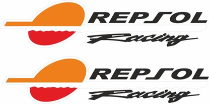 "Picture of ""Repsol Racing""  Track and street race sponsor Decals / Stickers"