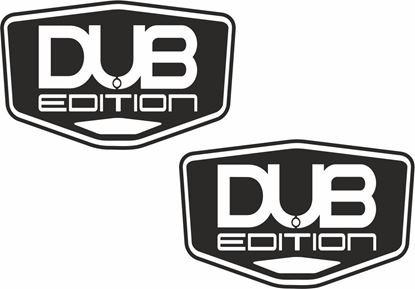 """Picture of """"DUB Edition"""" Decals / Stickers"""