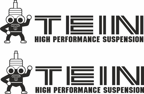 "Picture of ""Tein High Performance Suspension""  Decals / Stickers"