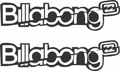 Picture of Billabong Decals / Stickers