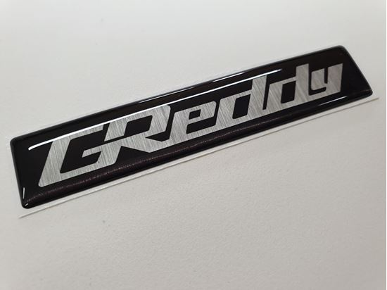 """Picture of Nissan Skyline R33  replacement """"Greddy"""" Inlet Manifold relief Badge"""