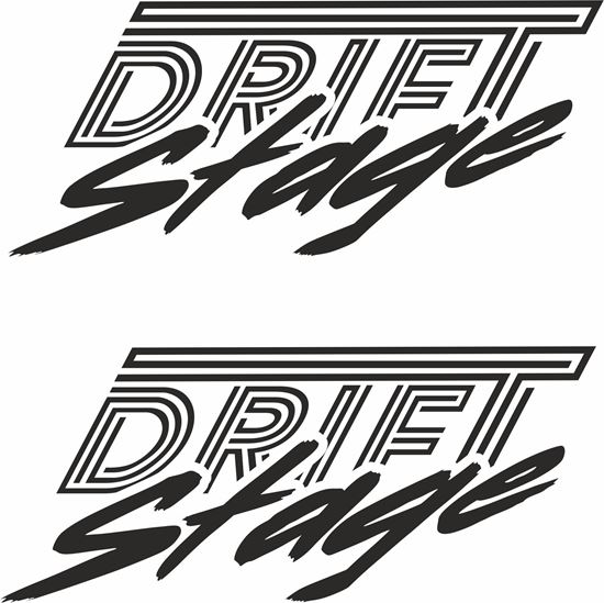 "Picture of ""Drift Stage""Decals / Stickers"