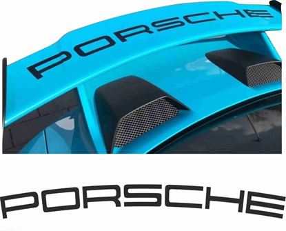 Picture of Porsche 991 GT3 rear Wing Decal / Sticker