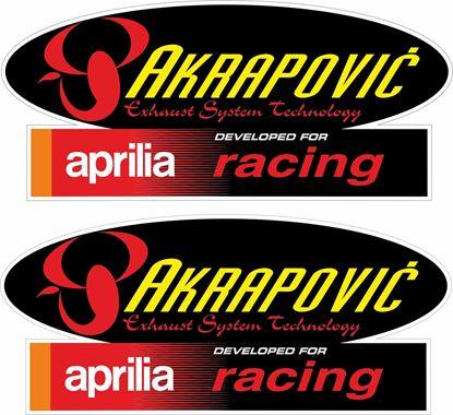 Picture of Aprilia Racing  Akrapovic Decals / Stickers