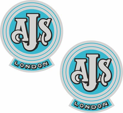 "Picture of ""AJS London"" Decals / Stickers"