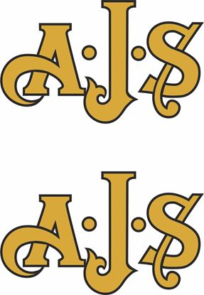 "Picture of ""A.J.S"" Decals / Stickers"