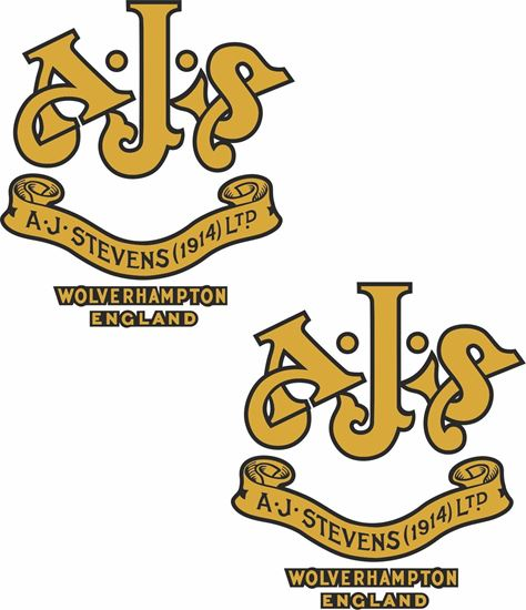 """Picture of """"A.J.Stevens (1914) Ltd..."""" Decals / Stickers"""