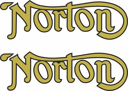 Picture of Norton replacement restoration Decals / Stickers