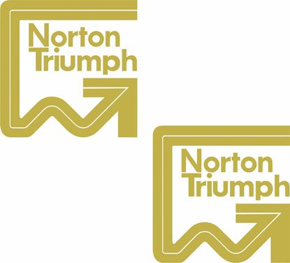 Picture of Norton Triumph Decals / Stickers
