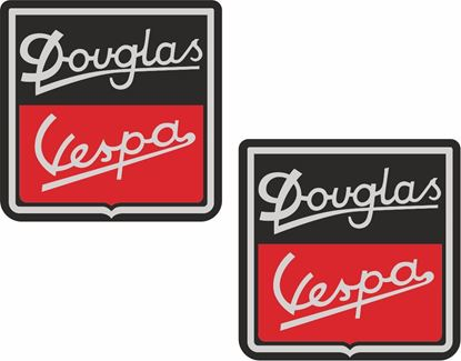 Picture of Douglas Vespa Decals / Stickers