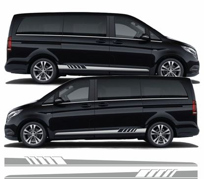 Picture of Mercedes V Class side stripes / Decals