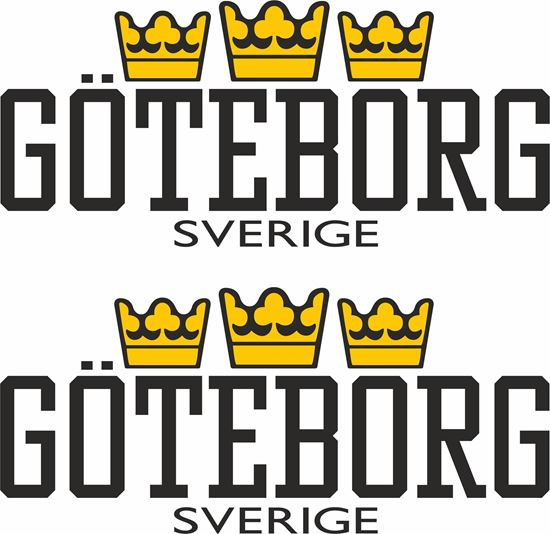 Picture of Goteborg Sverige Decals / Stickers