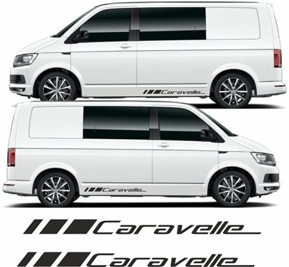 "Picture of VW T5 / T6 ""Caravelle"" Decals Stickers"