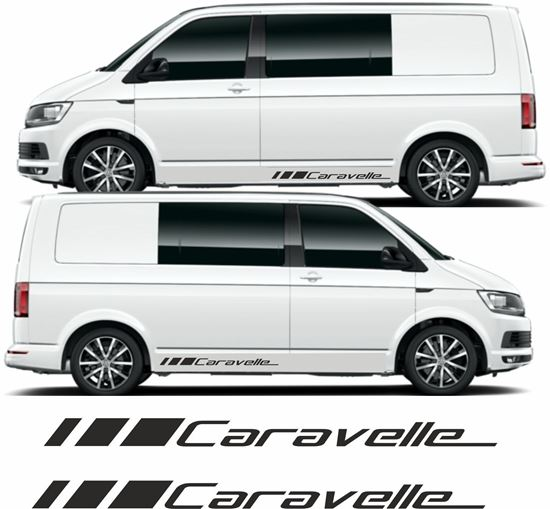 """Picture of VW T5 / T6 """"Caravelle"""" Decals Stickers"""