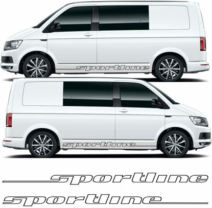 "Picture of VW  T5 / T6 ""Sportline""side  Decals / Stickers"