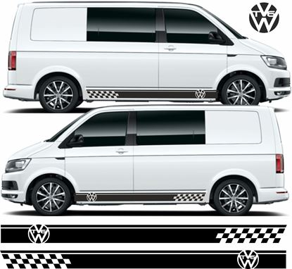 """Picture of VW """"T6"""" side Stripes / Stickers"""