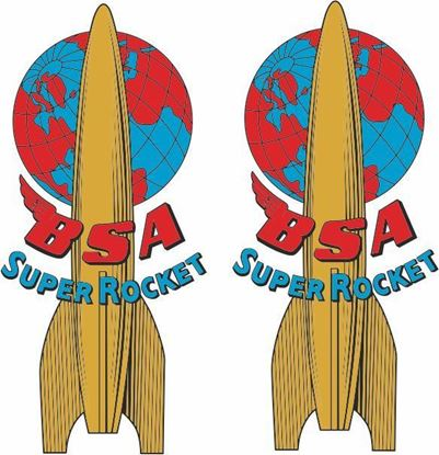 Picture of BSA  Super Rocket  Decals / Stickers