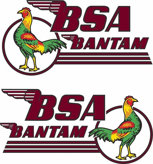 Picture of BSA  Bantam Decals / Stickers